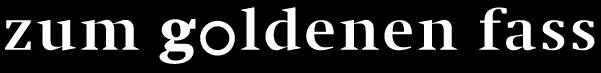 Logo zum goldenen fass